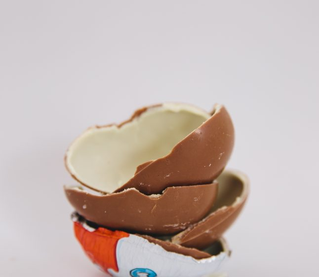 Najsłodsze jajka na świecie czyli kinder niespodzianki